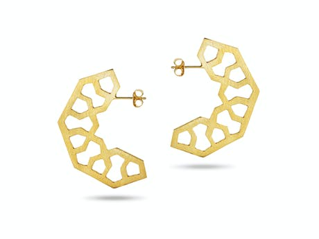 Kashan Hoop Earrings
