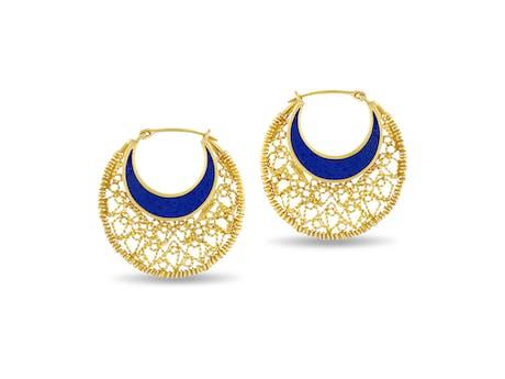 Mali Moon Earrings